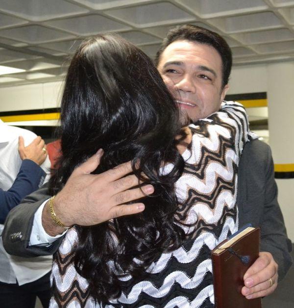 Deputada Geovânia de Sá traz o deputado e pastor Marco Feliciano para palestrar em Criciúma