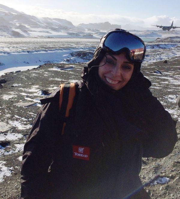 Deputada federal Geovânia de Sá participa de missão da Marinha na Antártica