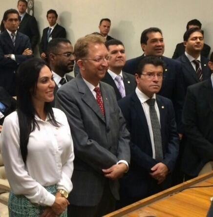 Geovânia de Sá é eleita vice-presidente da Frente Parlamentar Evangélica